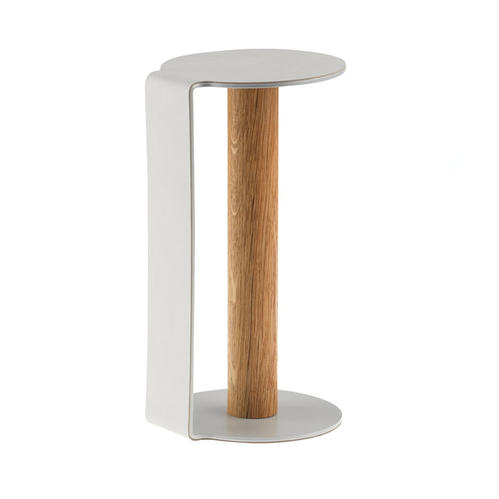 Küchenrollenhalter XL 31 cm von LindDNA in Nupo Metallic / Aluminium Metallic