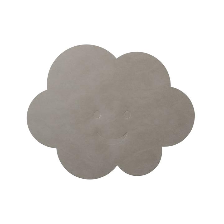 Kinder-Tischset Wolke von LindDNA in Nupo hellgrau