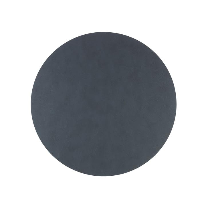 LindDNA - Hot Mat Circle S Tischunterlage Ø 24 cm, Bull anthrazit