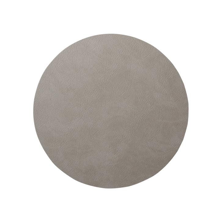 LindDNA - Hot Mat Circle S Tischunterlage Ø 24 cm, Cloud hellgrau