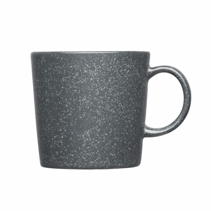 Teema Becher mit Henkel, 0,2 l von Iittala in gesprenkelt Grau