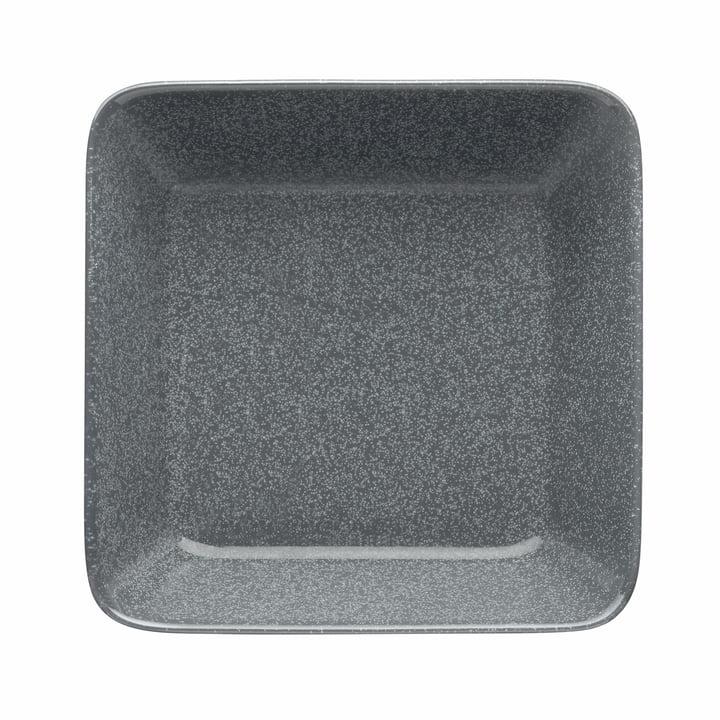 Teema Teller/Schale 16 x 16 cm von Iittala in gesprenkelt Grau