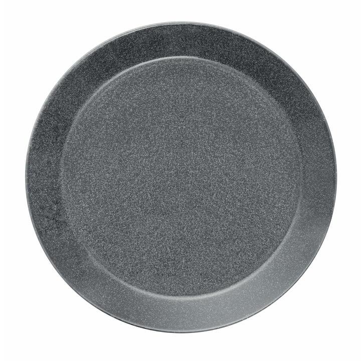 Teema Teller flach Ø 26 cm von Iittala in gesprenkelt Grau