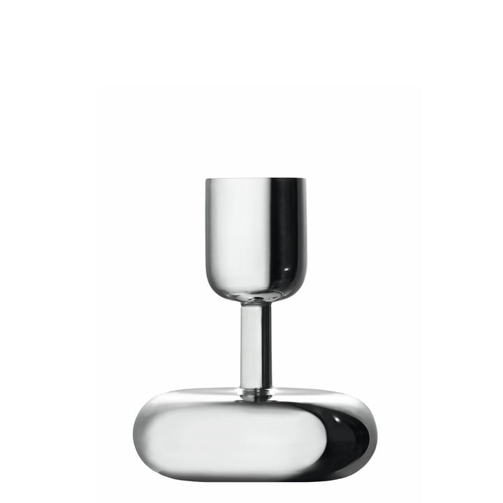 Iittala - Nappula Kerzenständer 107 mm, Edelstahl