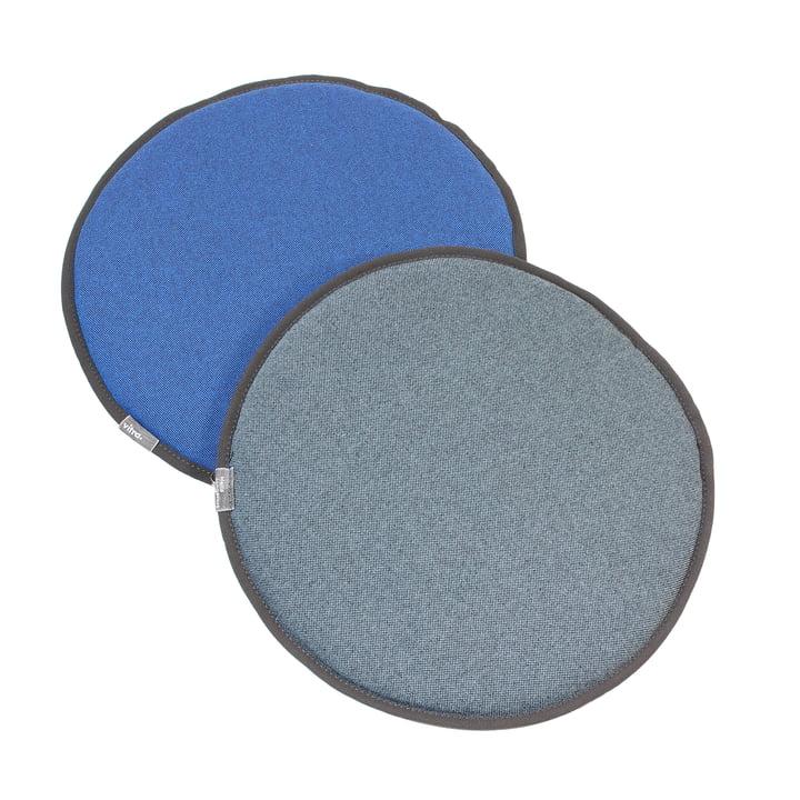 Vitra - Seat Dots, blau / coconut