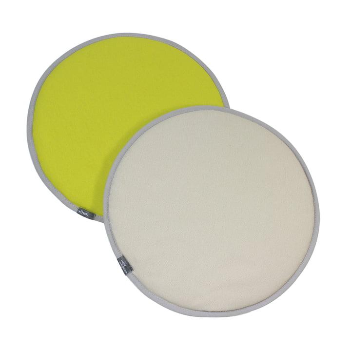 Vitra - Seat Dots, gelb / pastellgrün
