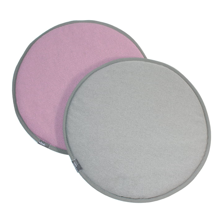 Vitra - Seat Dots, pink / sierragrau