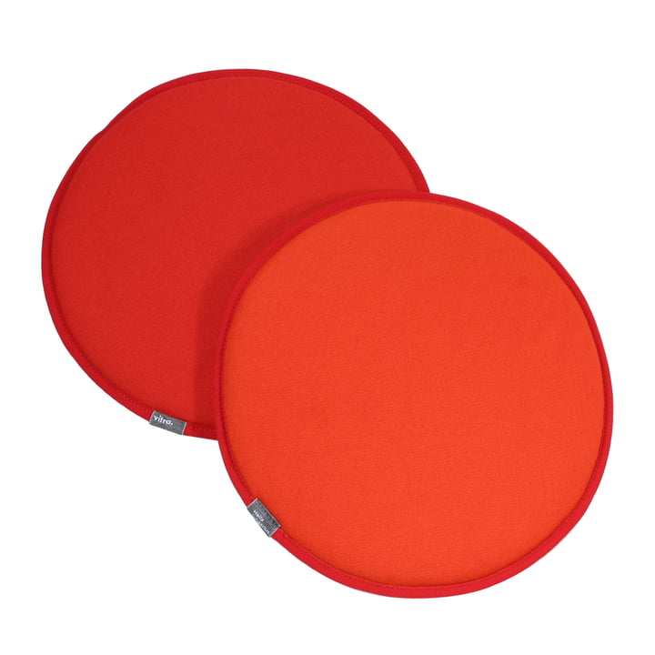 Vitra - Seat Dots, rot / poppy red