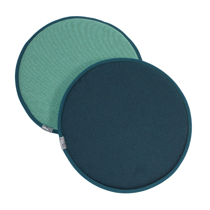 Vitra - Seat Dots, mint / forest