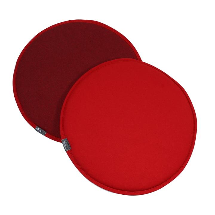 Vitra - Seat Dots, rot / coconut