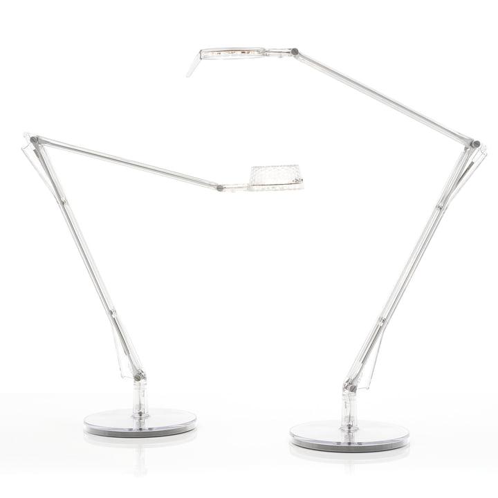 Kartell - Aledin Schreibtischleuchte Tec LED, transparent