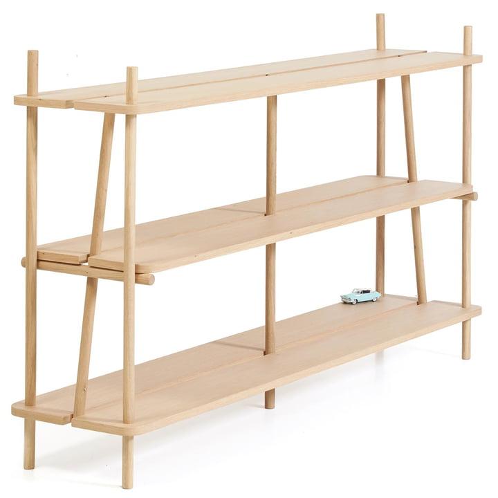 Simone Bücherregal 160 cm von Hartô aus Eichenholz