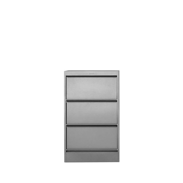 Tolix - CC3 Kommode mit 3 Schubladen, Stahl satiniert