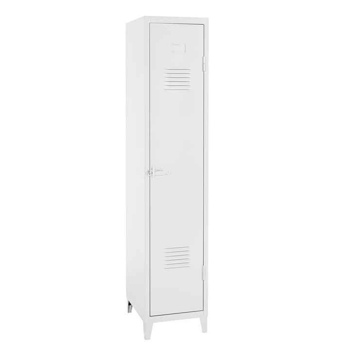 B1 Garderobenschrank von Tolix in Weiß matt