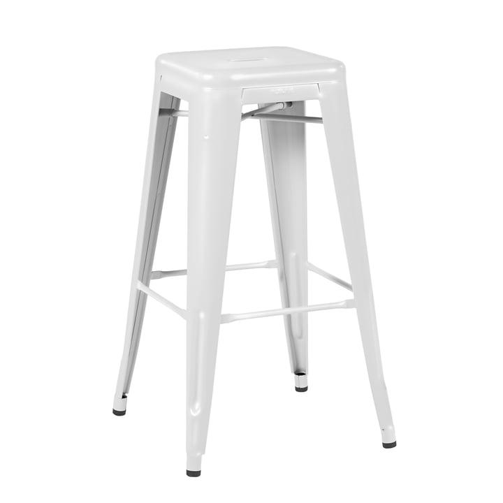 H75 Hocker Indoor von Tolix in Weiß glänzend