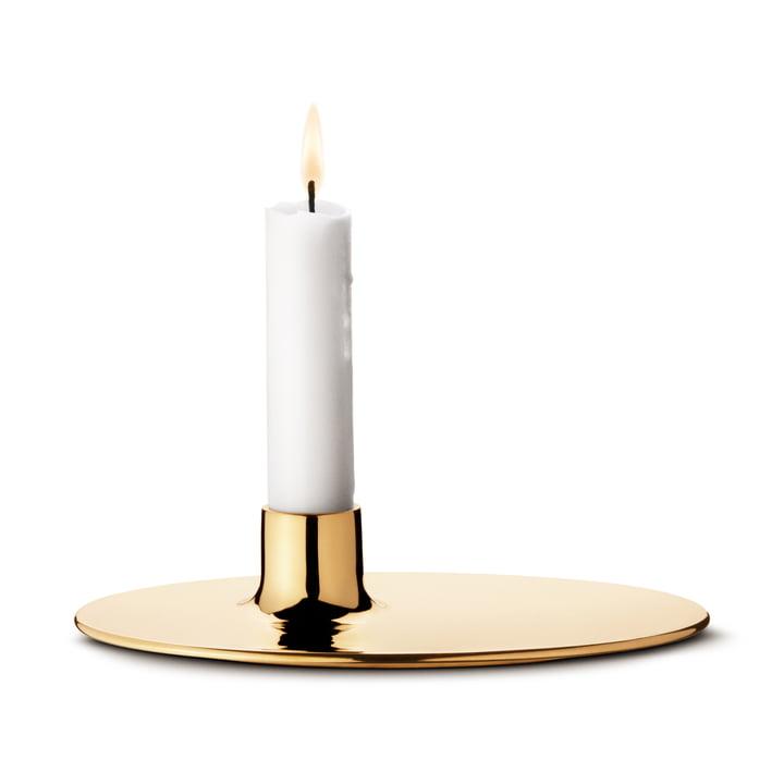Ilse Kerzenhalter von Georg Jensen aus Messing