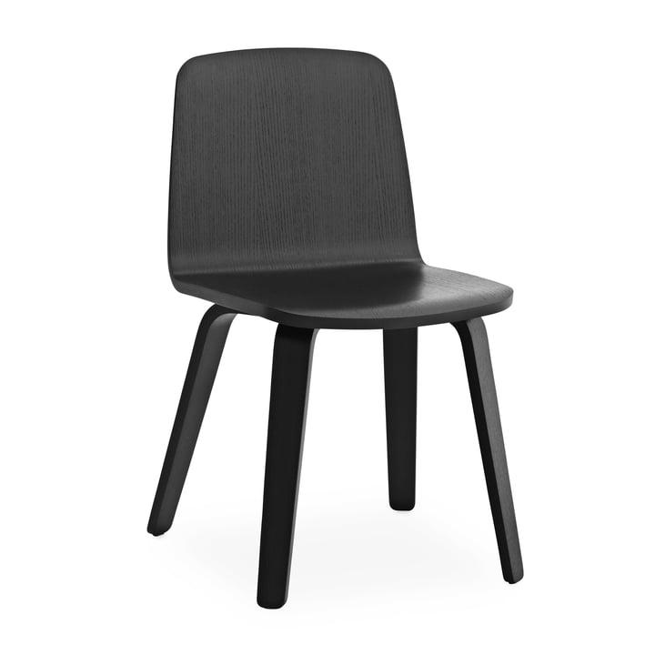 Just Stuhl von Normann Copenhagen in Schwarz