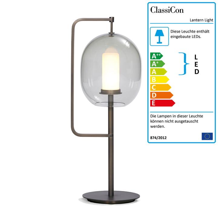 Lantern Light Tischleuchte von ClassiCon in Messing brüniert