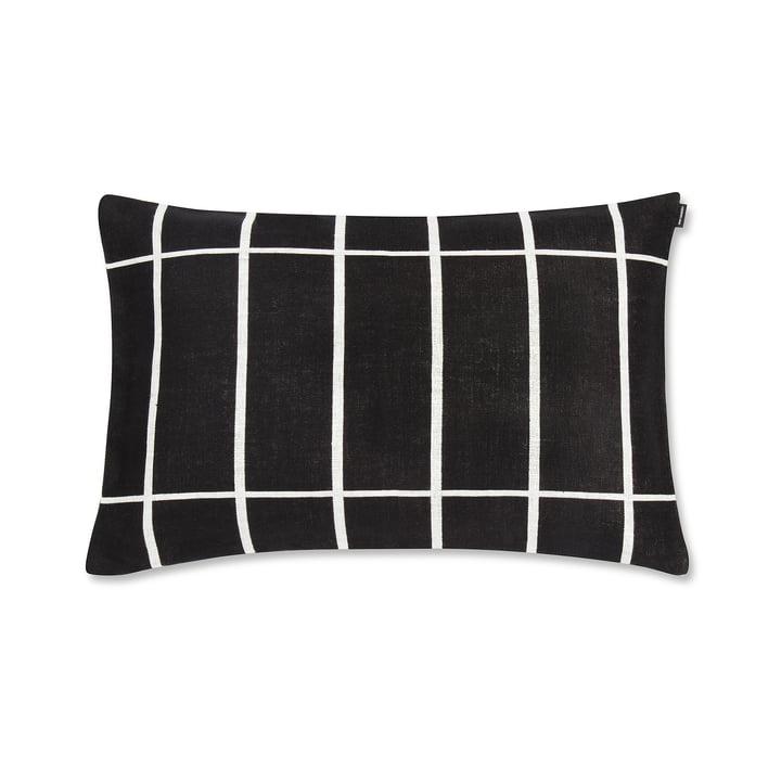 Tiiliskivi Kissenbezug 40 x 60 cm von Marimekko in Schwarz / Weiß