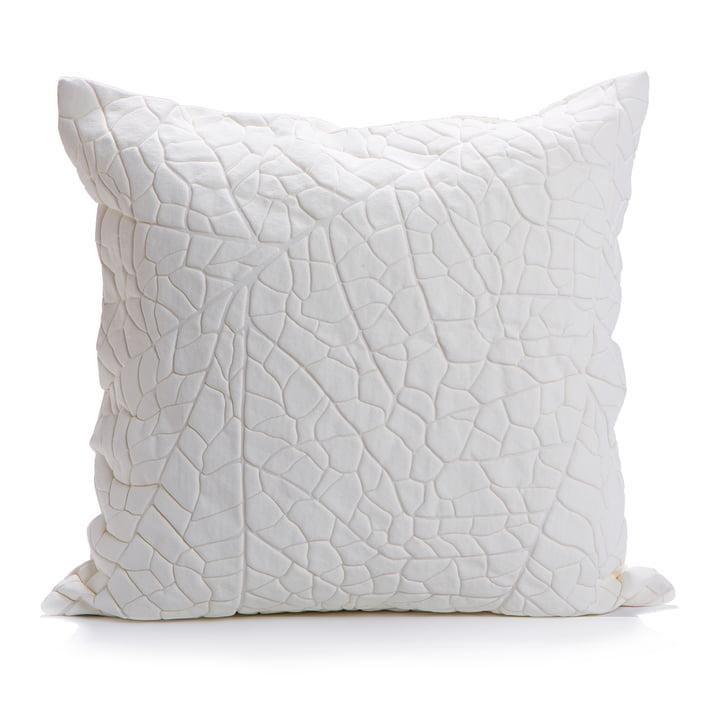 Mika Barr - Vein Kissenbezug, 50 x 50 cm, weiß