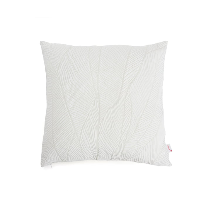 Mika Barr - Pinion Kissenbezug, 45 x 45 cm, weiß