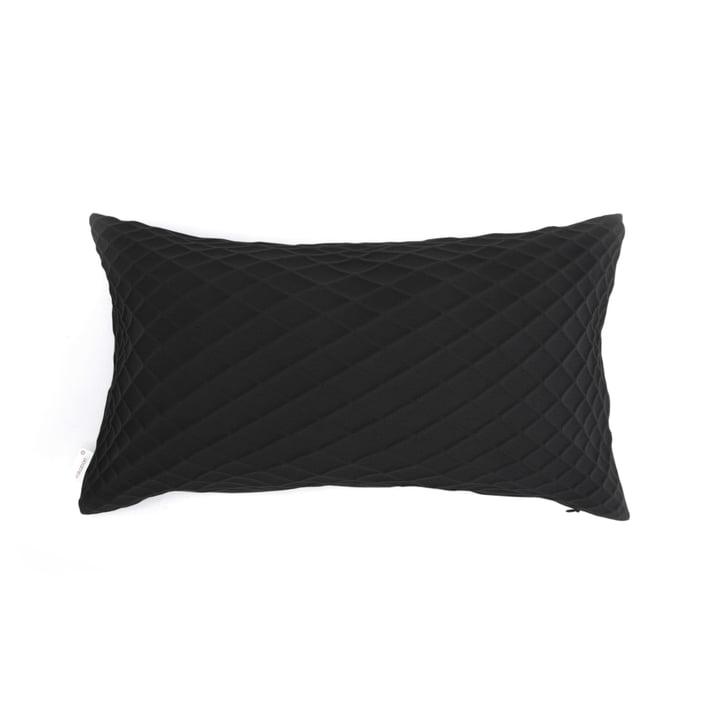 Mika Barr - Rotem Kissenbezug, 50 x 30 cm, schwarz