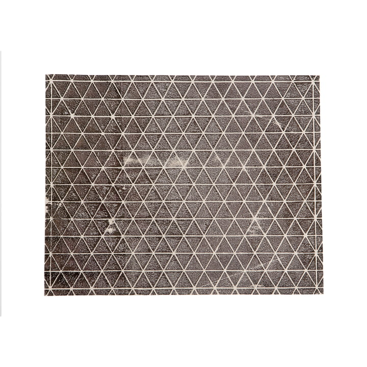 Mika Barr - Tischset Ilay, 50 x 40 cm, weiß / schwarz