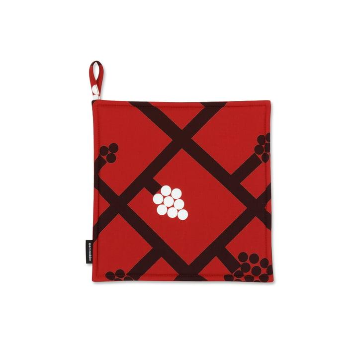 Spaljé Topflappen von Marimekko in Rot