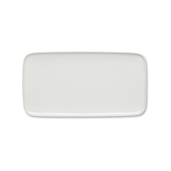 Oiva Servierplatte 16 x 30 cm von Marimekko in Weiß