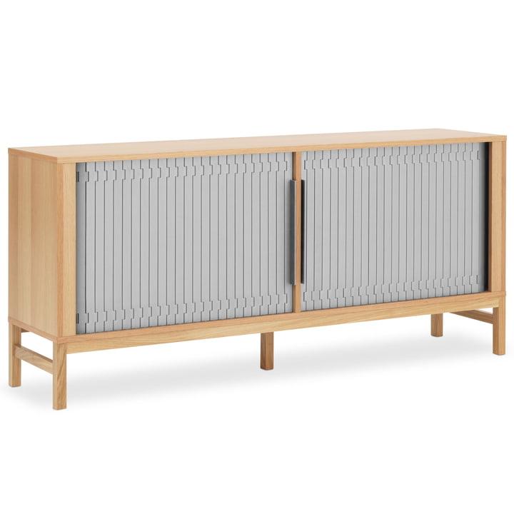 Jalousi Sideboard von Normann Copenhagen in Grau