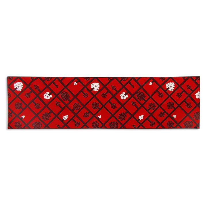 Spaljé Tischläufer 40 x 160 cm von Marimekko in Rot