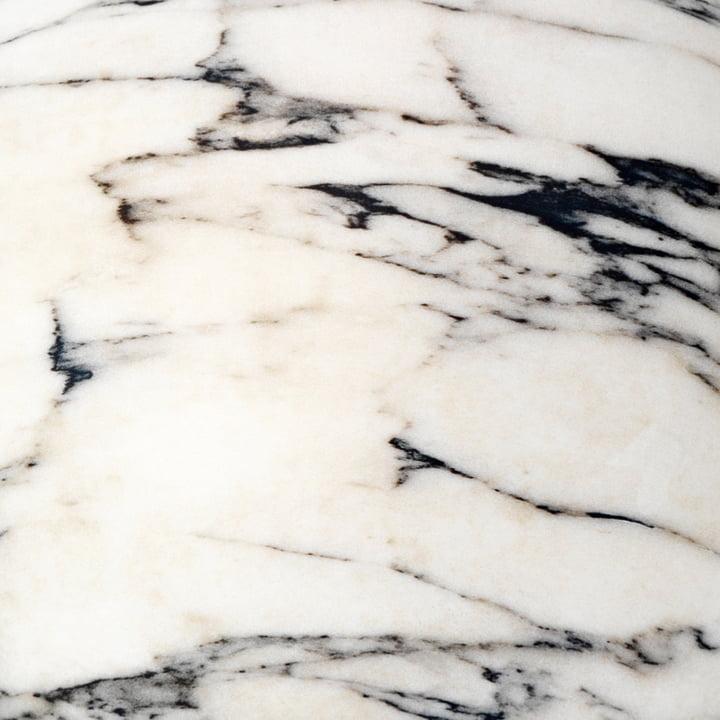 Baleri Italia - Bezug für Sitzkugel Tato, Carrara Marmor
