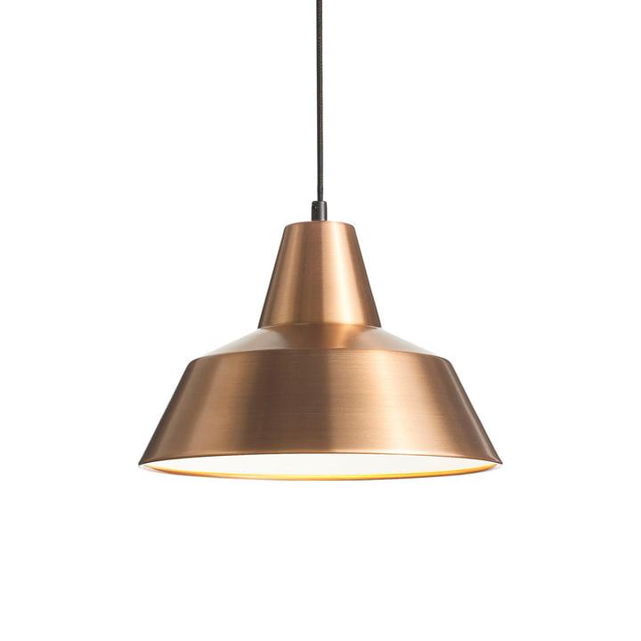 Workshop Lamp W3 von Made by Hand in Kupfer/ Weiß / Schwarz