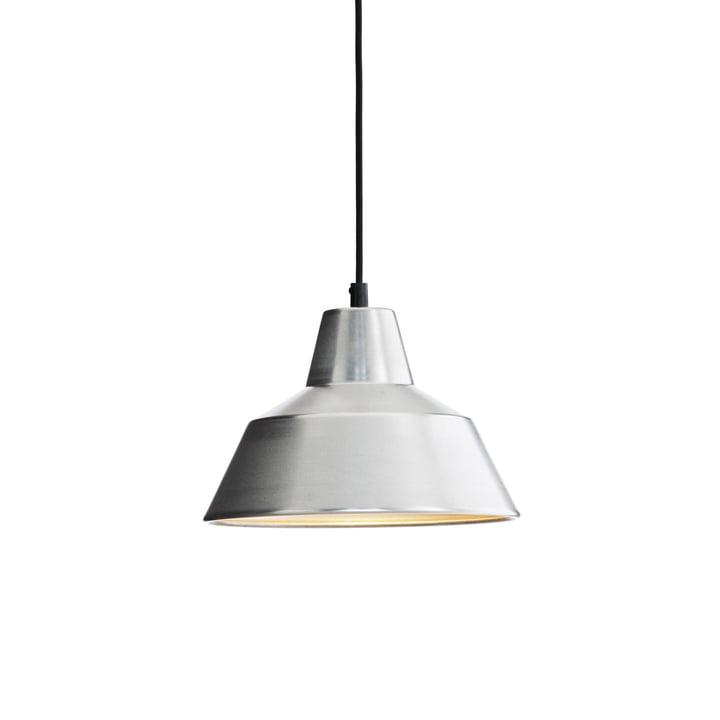 Workshop Lamp W2 von Made by Hand in Aluminium / Schwarz