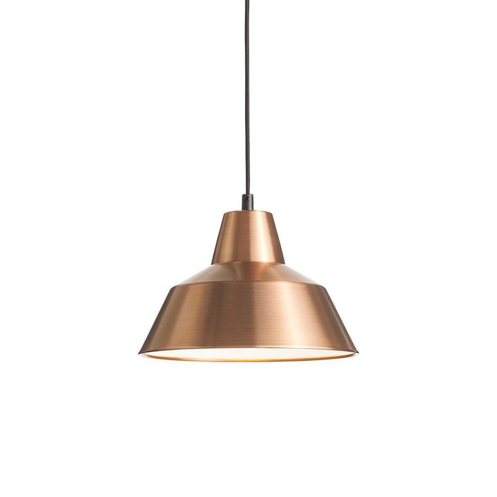 Workshop Lamp W2 von Made by Hand in Kupfer / Weiß / Schwarz
