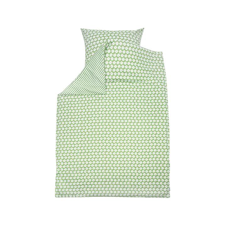 Kinderbettwäsche-Set Klee von byGraziela in Grün