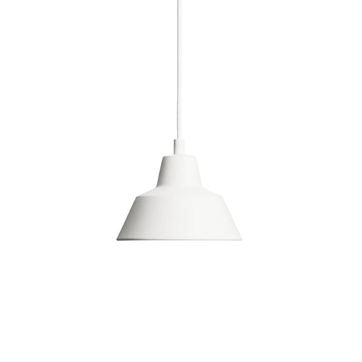 Die Made by Hand - Workshop Lamp W1 in matt weiß / weiß