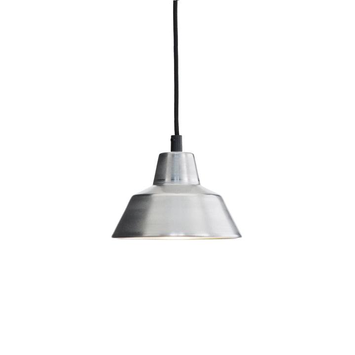 Die Made by Hand - Workshop Lamp W1 in aluminium / schwarz