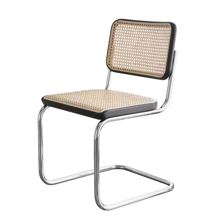 s 32 freischwinger stuhl von thonet connox. Black Bedroom Furniture Sets. Home Design Ideas