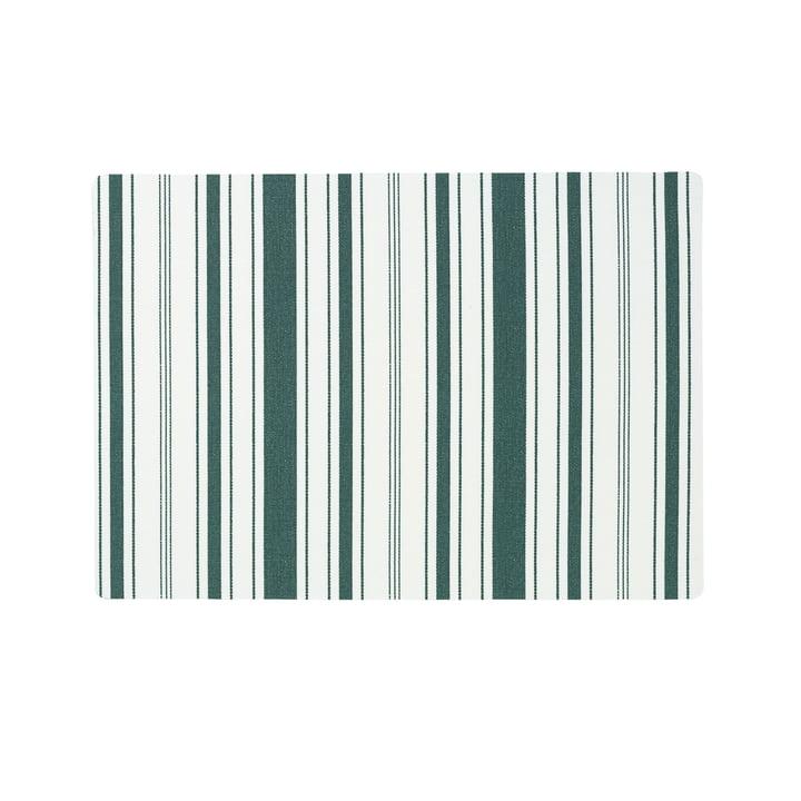 Das Juna - Urban New Stripe Tischset 30 x 45 cm, trekking green