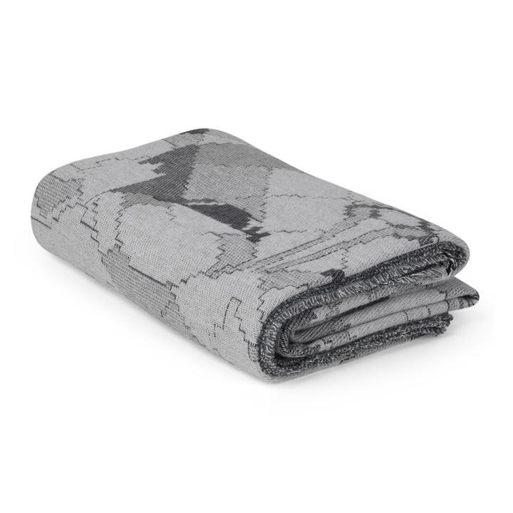 Die Juna - Bjørn Wiinblad Gobelin Decke 130 x 195 cm in grau