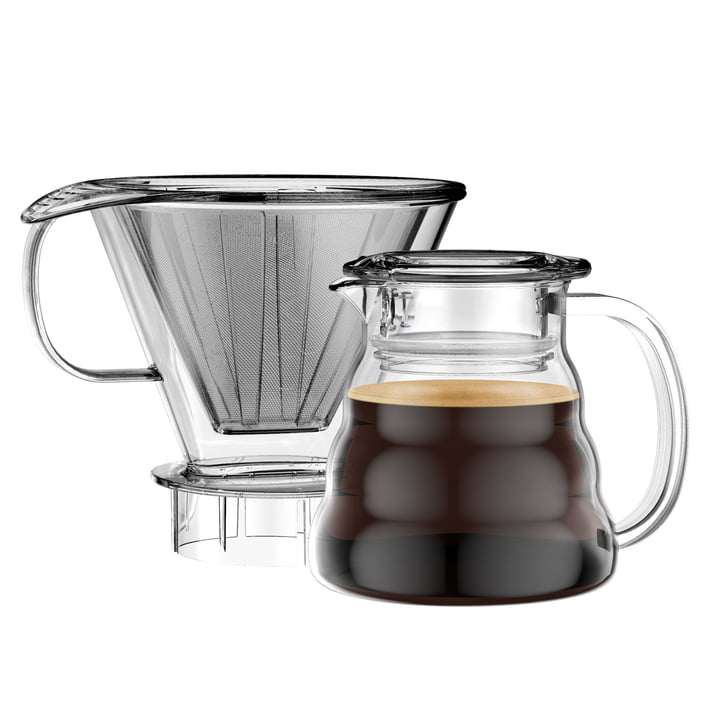 Melior Kaffeebereiter mit Permanentfilter 0,6 l von Bodum