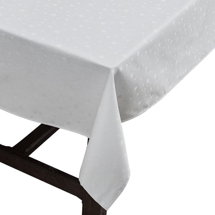 Die Juna - Dot Tischdecke in weiß