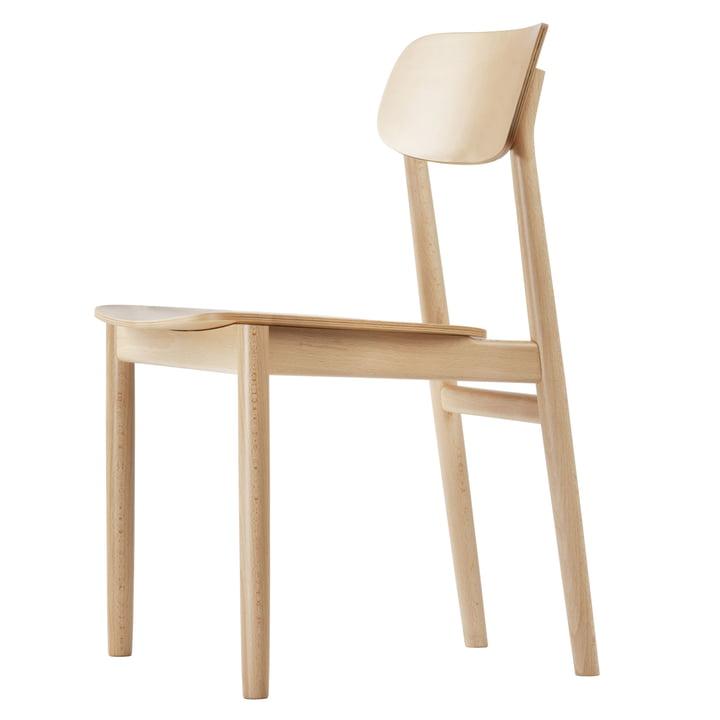 130 Stuhl von Thonet aus Buche natur (TP 17)