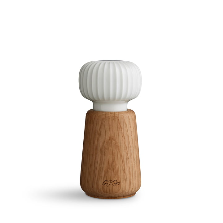 Kähler Design - Hammershøi Salz- und Pfeffermühle, klein, weiß