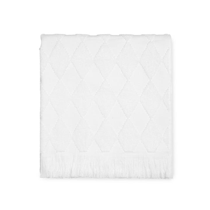 Das Juna - Diamond Badetuch 70 x 140 cm in weiß