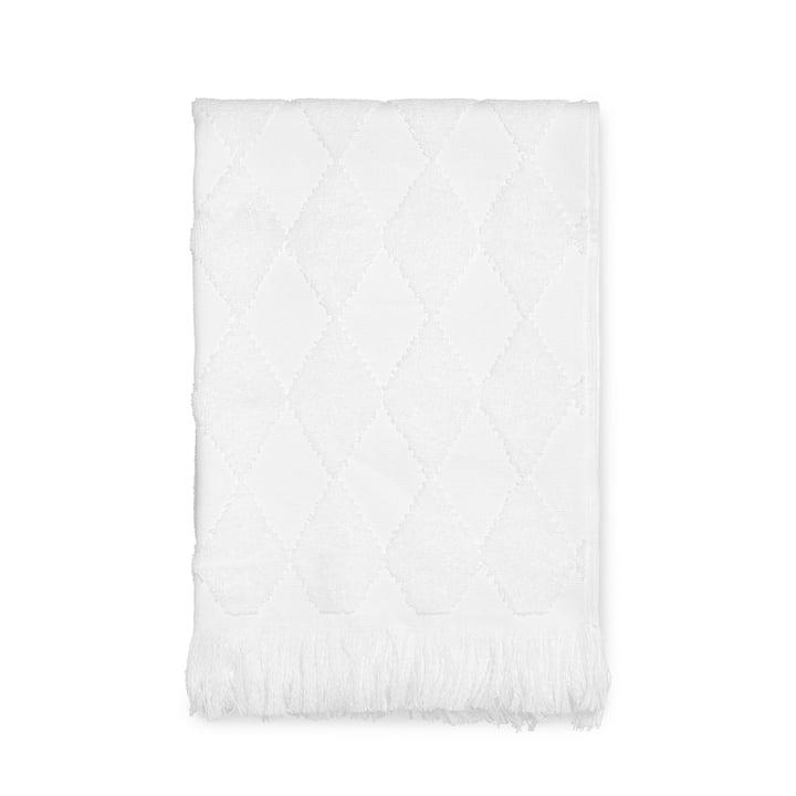Das Juna - Diamond Handtuch 50 x 100 cm in weiß