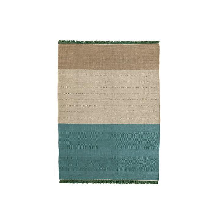 Der nanimarquina - Tres Stripes 170 x 240 cm, salvia