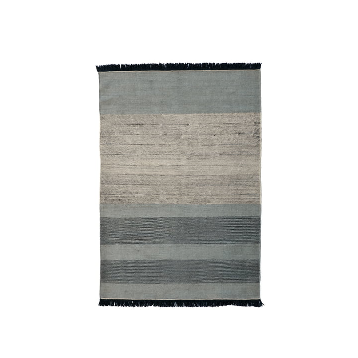Der nanimarquina - Tres Stripes 170 x 240 cm in blau