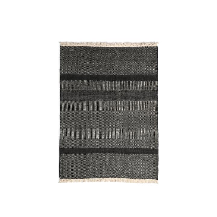 Der nanimarquina - Tres Texture 170 x 240 cm in schwarz